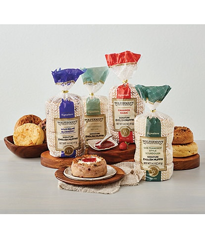 Wolferman's Favorite Flavors English Muffin Sampler