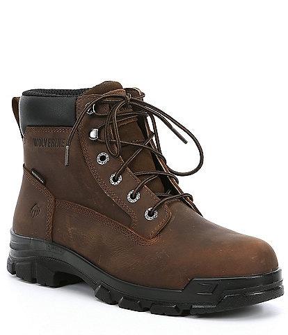 Wolverine Men's Chainhand 6#double; Steel Toe Waterproof Work Boots