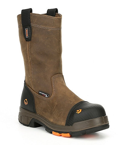 Wolverine Men's Blade LX 10#double; Composite Toe Waterproof Slip Resistant Work Boot