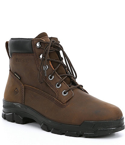 Wolverine Men's Chainhand 6#double; Soft-Toe Waterproof Work Boots