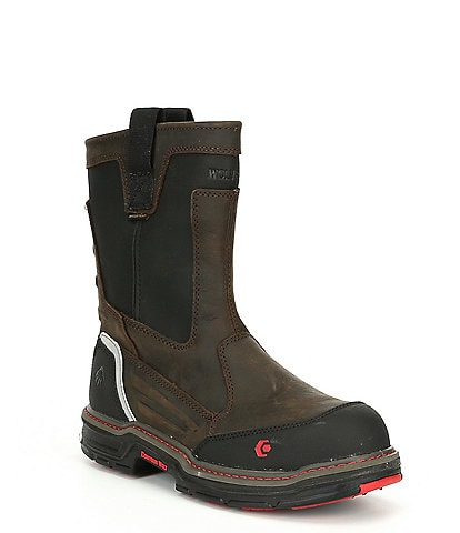 Wolverine Men's Overman Waterproof Composite-Toe Slip Resistant Work Boot
