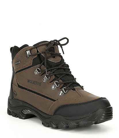 Wolverine Men's Spencer Waterproof Soft Toe Nubuck Work Hiking Boot