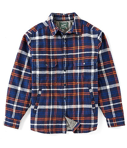 Woolrich Oxbow Bend Plaid Lined Shirt Jacket