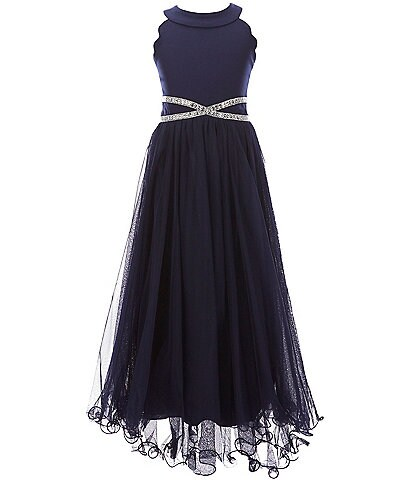 Xtraordinary Big Girls 7-16 Infinity-Waist Ball Gown