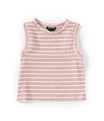 Xtraordinary Big Girls 7-16 Striped Knit Tank Top