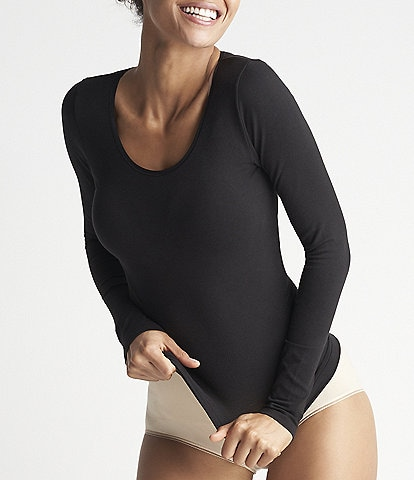 Yummie Karlie Cotton Seamless Long-Sleeve Top