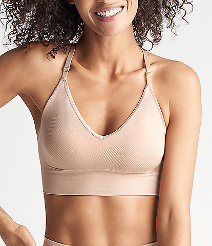 Yummie Ultralight Seamless Lace Back Bralette