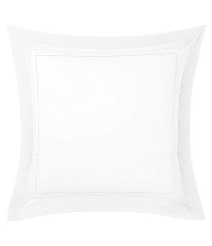 Yves Delorme Lutece Embroidered Cotton Sateen Euro Sham