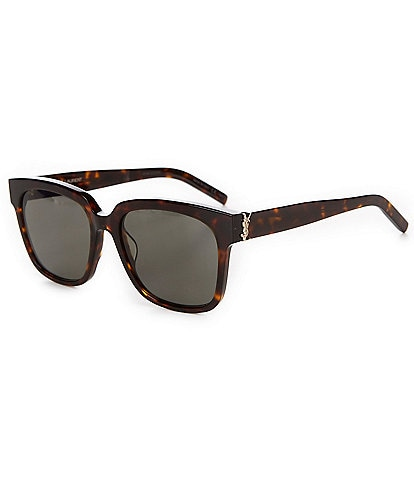 Saint Laurent Tortoise Square Sunglasses