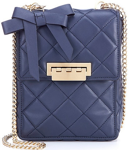 ZAC Zac Posen Soft Earthette Quilted Convertible Backpack