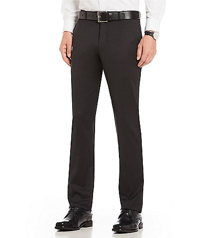 PN12 by Zanella Modern Fit Flat Front Solid Dress Pants