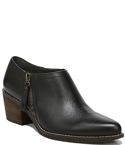 Zodiac Margot Leather Ankle Booties