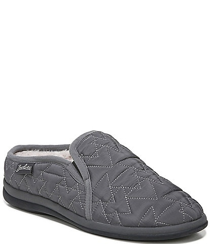 Zodiac Preston Quilted Nylon Faux Fur Lined Slip-Ons