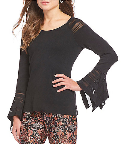 ZOZO Black Rose Tunic Top