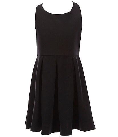 Zunie Big Girls 7-16 Criss-Cross Back Fit-And-Flare Dress