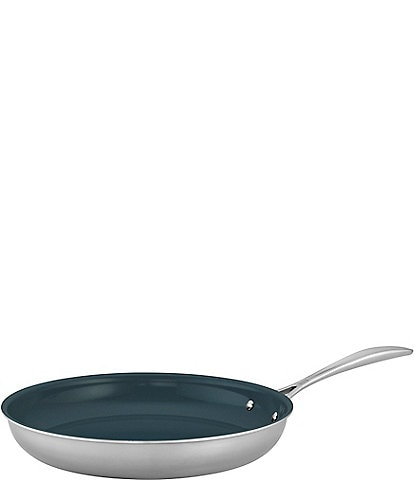 Zwilling Clad CFX 12#double; Stainless Steel Ceramic Nonstick Fry Pan