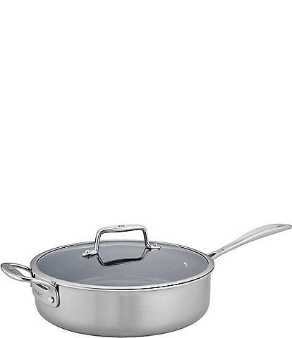 Zwilling Clad CFX 5-qt Stainless Steel Ceramic Nonstick Saute Pan