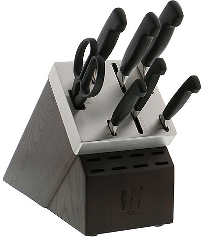 Zwilling J.A. Henckels Four Star 8 Piece Self-Sharpening Knife Set
