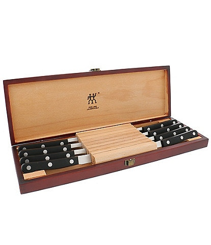 Zwilling J.A. Henckels Gourmet 8 Piece Steak Knives Set