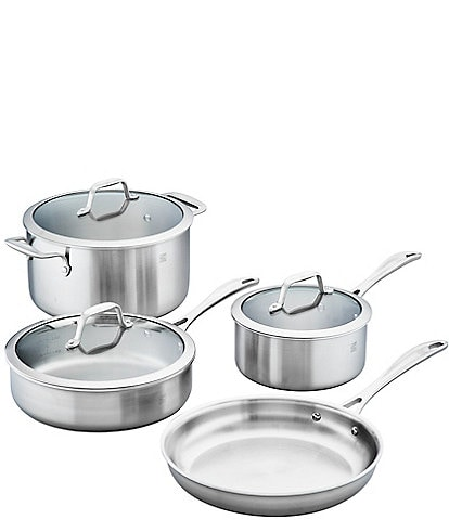 Zwilling Spirit 3-Ply 7pc Stainless Steel Cookware Set