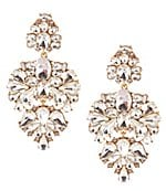 Givenchy Crystal Drop Statement Earrings | Dillards