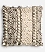 magnolia home by joanna gaines joslin textured oversized square feather pillow