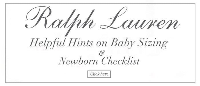 Print baby' ralph lauren Fit Guide