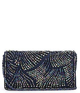 Image of Adrianna Papell Nixie Beaded Clutch