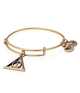 Image of Alex and Ani Harry Potter™ Deathly Hallows™ Charm Bangle Bracelet