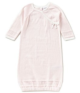 Image of Angel Dear Baby Girls Newborn-3 Months Bow Kimono Gown