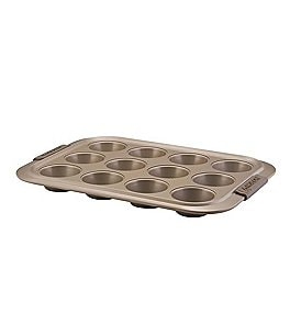 Image of Anolon Advanced Bronze Nonstick 12-Cup Muffin Pan