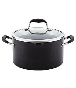 Image of Anolon Advanced Covered Stockpot with Pour Spout