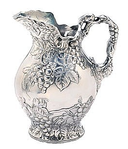 Image of Arthur Court Grape Pitcher