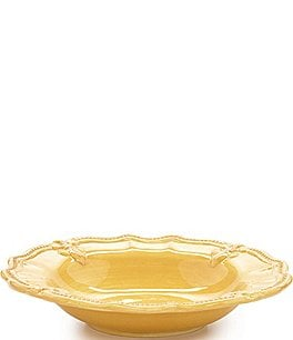 Image of Artimino Fleur-de-Lis Beveled Earthenware Rimmed Soup Bowl