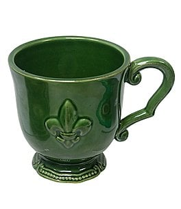 Image of Artimino Fleur-de-Lis Earthenware Mug