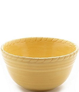 Image of Artimino Tuscan Countryside Rope-Edged Stoneware Cereal Bowl
