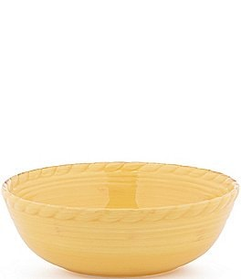 Image of Artimino Tuscan Countryside Rope-Edged Stoneware Serving Bowl