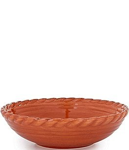 Image of Artimino Tuscan Countryside Rope-Edged Stoneware Soup Bowl