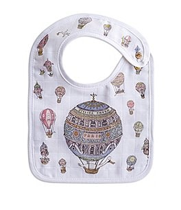 Image of Atelier Choux Paris Baby Hot Air Balloon Small Bib