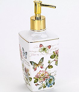 Image of Avanti Linens Butterfly Garden Lotion Pump