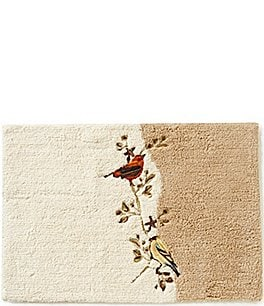 Image of Avanti Linens Gilded Birds Bath Rug
