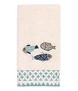 Image of Avanti Linens Lake Life Embroidered Bath Towels