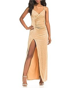 Image of B. Darlin Sequin Knit Long Dress