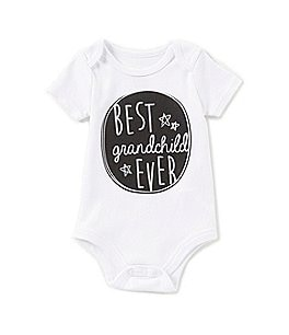 Image of Baby Starters Baby Boys 3-12 Months Best Grandchild Ever Short-Sleeve Bodysuit