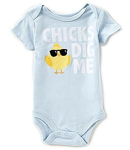 Image of Baby Starters Baby Boys 3-12 Months Chicks Dig Me Bodysuit