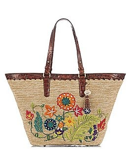 Image of Brahmin Le Jardin Collection Romina Tote