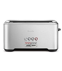 Image of Breville The Bit More Long-Slot 4-Slice Toaster