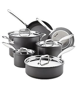 Image of Breville Thermal Pro Hard-Anodized Nonstick 10-Piece Cookware Set
