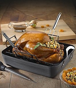 Image of Calphalon Contemporary Harvest Nonstick Roaster