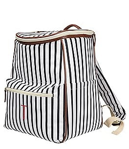 Image of Cathy's Concepts Coolers Personalized Striped Backpack Cooler